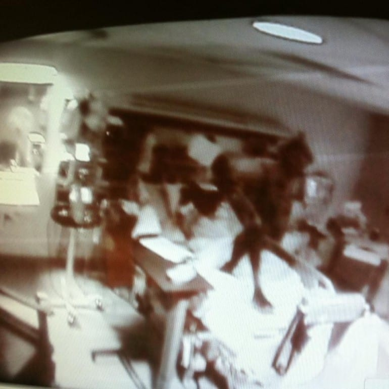 Demon Photo Captured in Hospital
