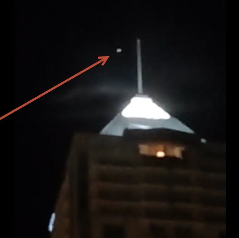 UFO sighting 4-18-2015