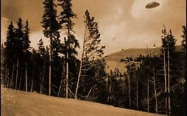 UFO over Cave Junction, Oregon, 1927