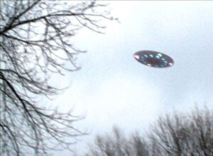 UFO Over Green Bay, Wisconsin