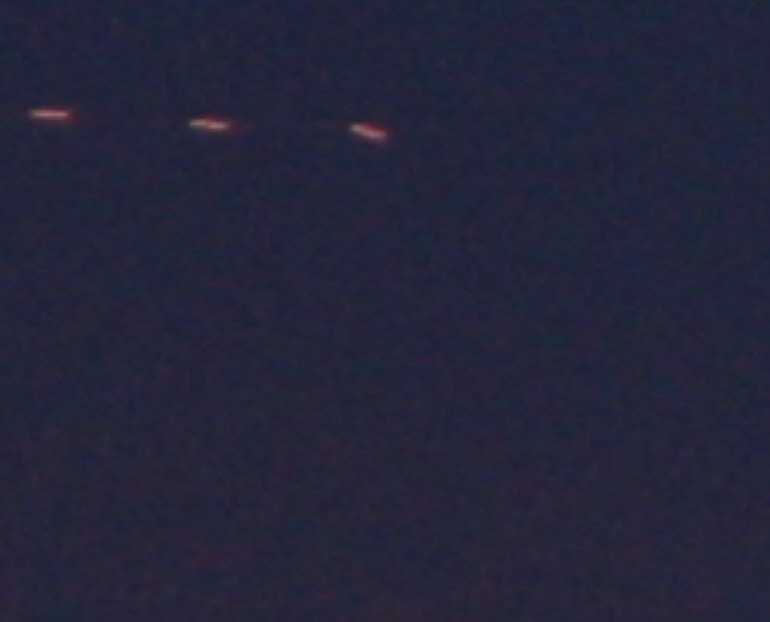 Seven Photographs Taken of Unknown Object over Kingman, Arizona
