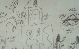Was John Lennon 'UFO sighting' recorded in rare drawing by The Beatles frontman?