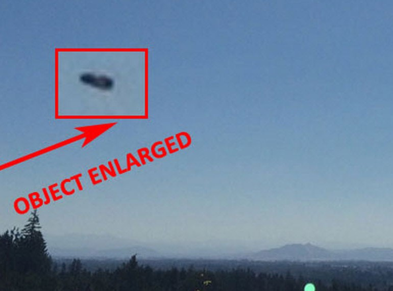 Man Finds Unknown Object in the Background of one of his photos – Corvallis, Oregon