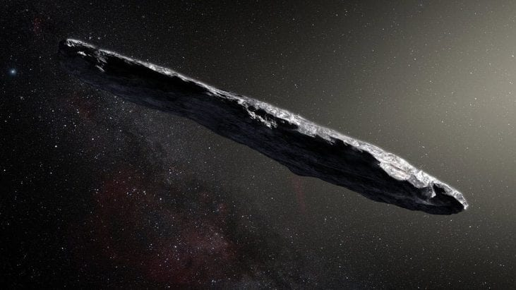 Oumuamua Scouting Our Solar System