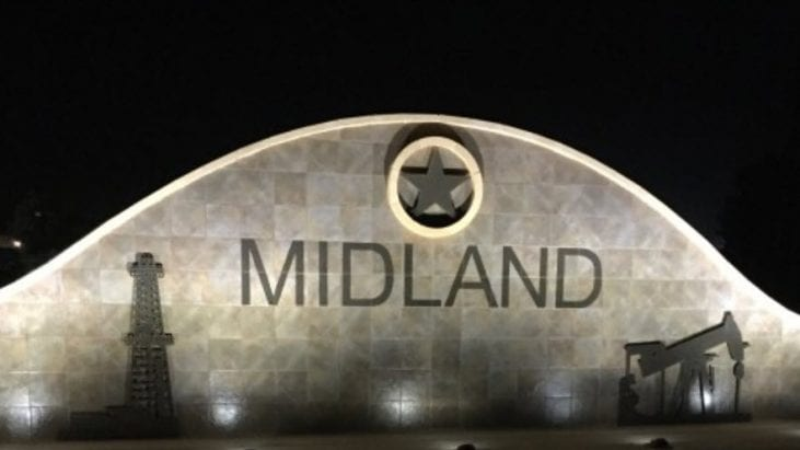 UFO over Midland, Texas, Caught on Camera While Driving – July 15, 2018