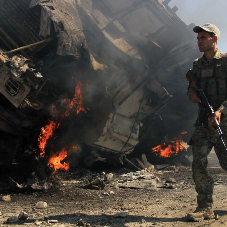 Friendly fire strike in Afghanistan – June 2014