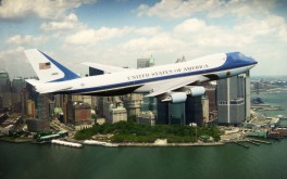 Air Force One Flyover of New York City, 4/27/2009