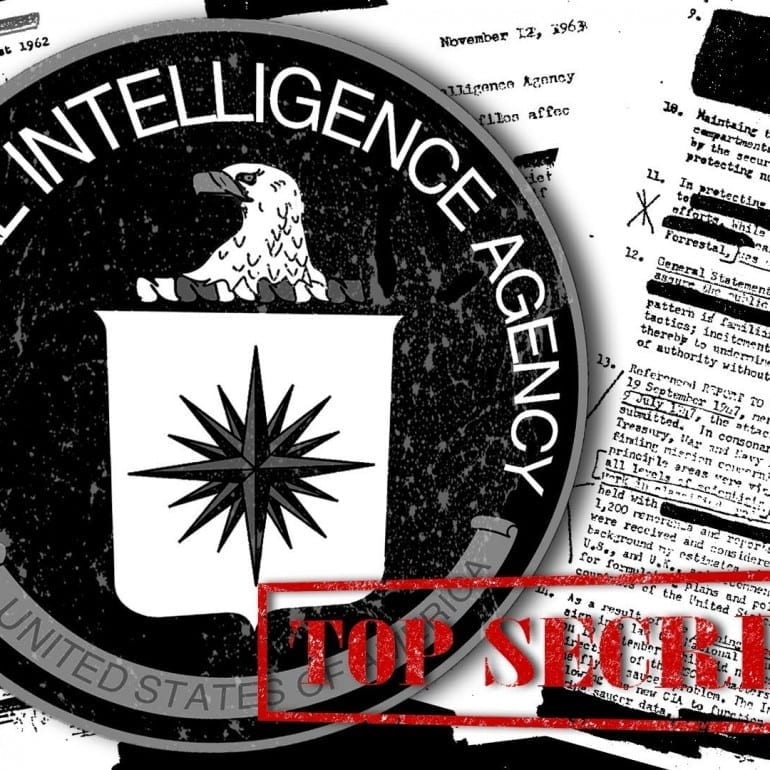 Central Intelligence Agency (CIA) Records on 9/11/01 Terrorist Attacks