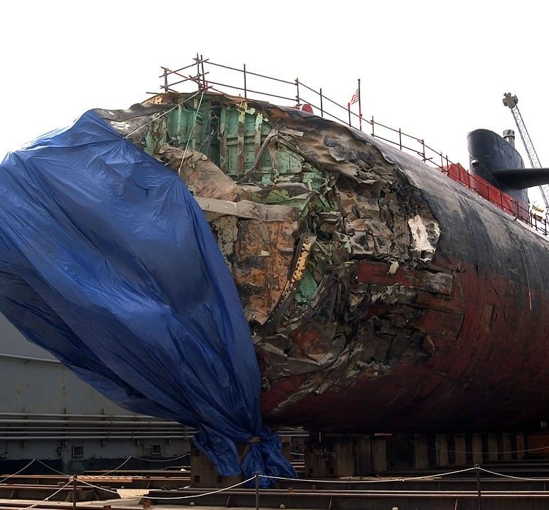 USS San Francisco (SSN-711) Crash, January 2005