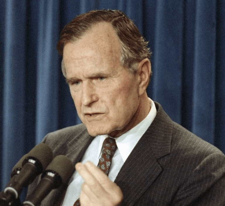 Assassination Attempt: George H. W. Bush – 4/13/1993