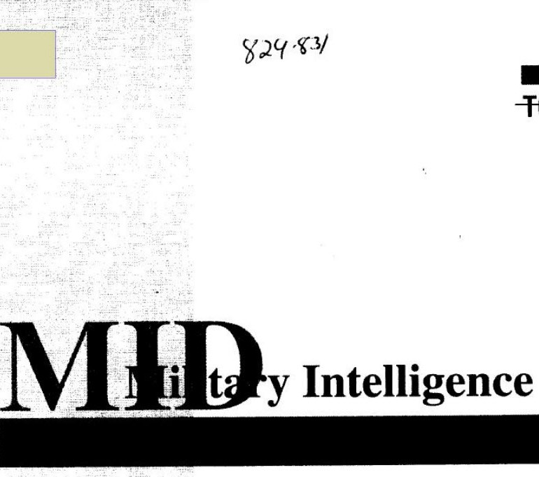 Military Intelligence Digest (Defense Intelligence Agency [DIA] Publication)