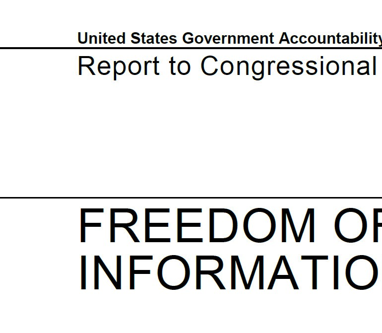 DHS Should Take Steps to Improve FOIA Cost Reporting and Eliminate Duplicate Processing, November 2014 GAO Report