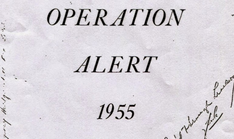 "Operation Alert ""Civil Defense Drill"" – Federal Civil Defense Agency"