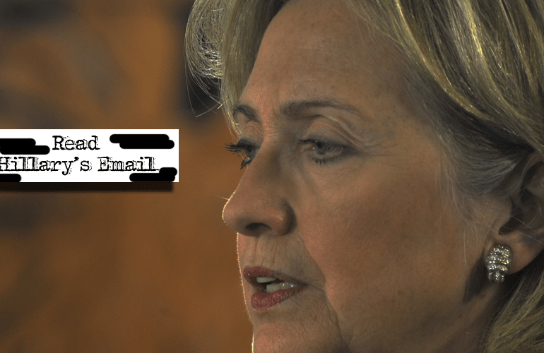 Complete Database of Hillary Clinton's Controversial E-Mails — 55,000+ Pages