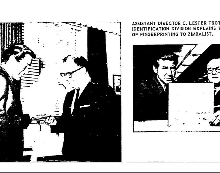 "FBI Internal Newsletter, ""Investigator"""