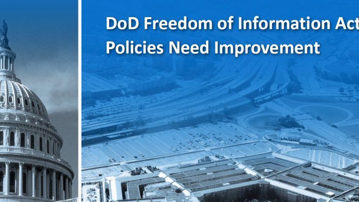 DOD/IG Report: DoD Freedom of Information Act Policies Need Improvement, August 16, 2016