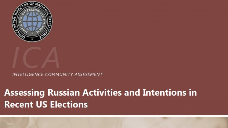 Assessing Russian Activities and Intentions in Recent US Elections, 6 January 2017