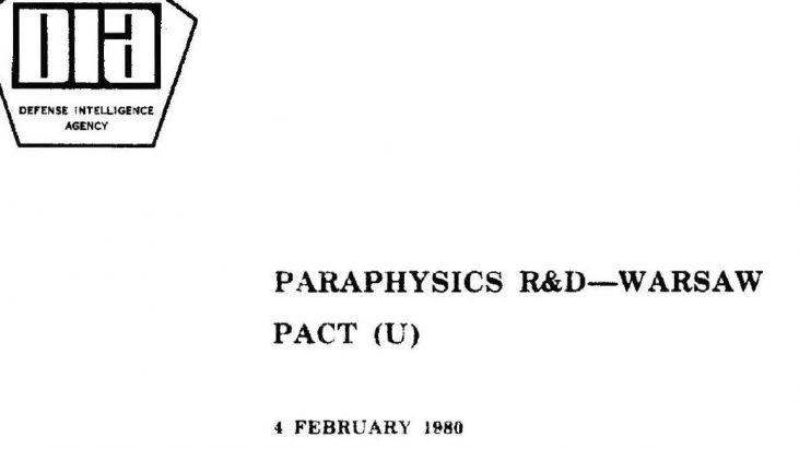 Paraphysics R&D – Warsaw Pact, March 30, 1978