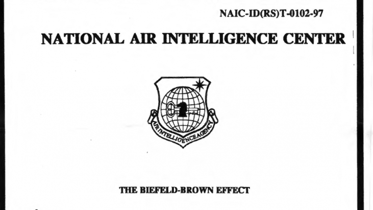 The Biefield-Brown Effect, 2 May 1997