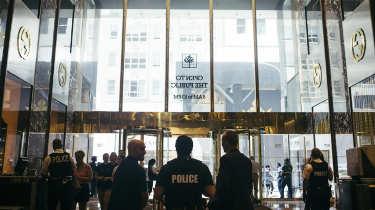 Secret Services Vacates Trump Tower over Lease Dispute, August 2017