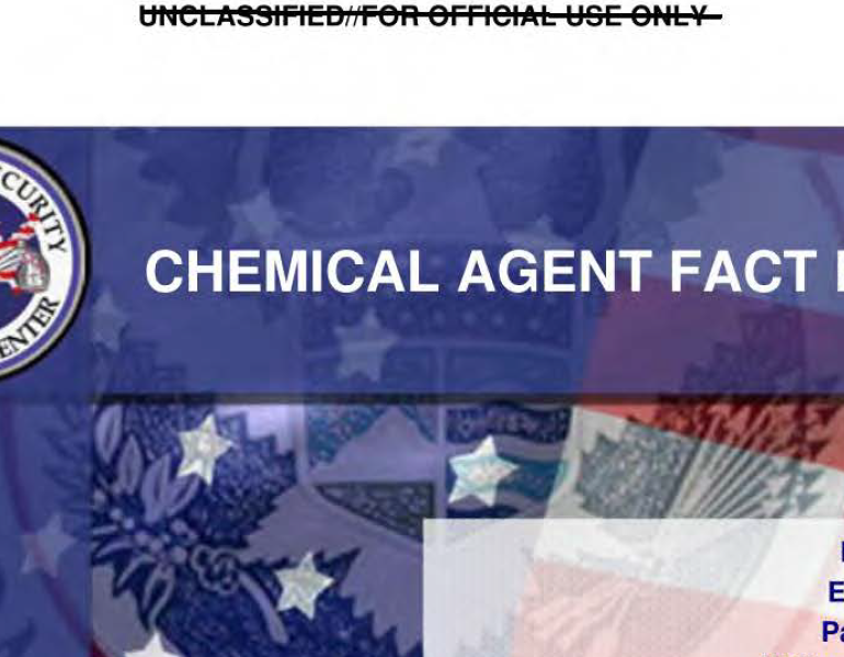 Chemical Agent Fact Book, May 2010