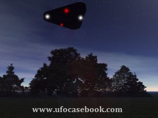 Triangle-shaped Object Observed over Dover, Delaware