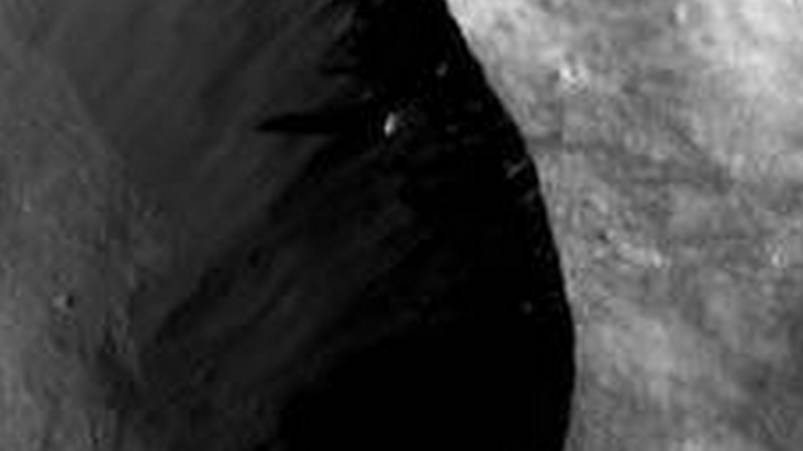 Tall Artificial Object Captured by NASA's Dawn Cameras