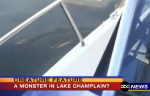 Elusive Lake Champlain Monster Surfaces