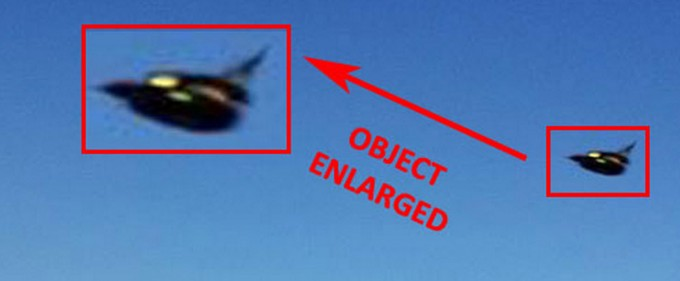 Very Strange Dark Aerial Object Captured on Photo