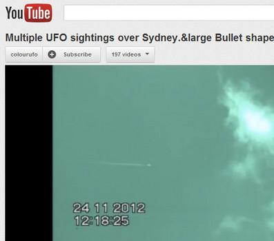 UFO sightings over Australia captured in YouTube footage