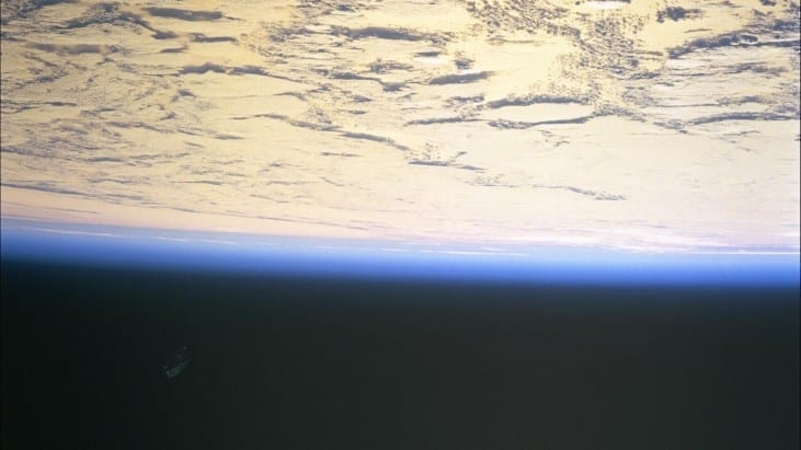 Black Knight Satellite? Mysterious craft looking object in NASA photo