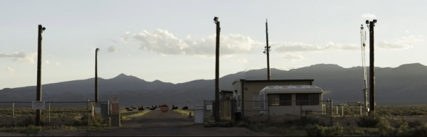 Super High Resolution Panorama of Area 51's Back Gate – September 2014