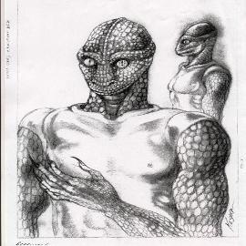 Typical Reptilian Creature
