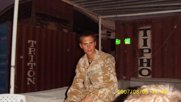 Photo of Ghost or Evil Spirit taken while serving in Iraq