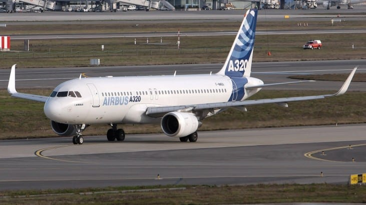 Pilot describes moment an Airbus with up to 220 people on board came dangerously close to crashing into 'UFO' as it came in to land