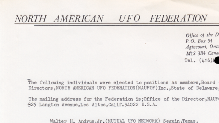North American UFO Federation