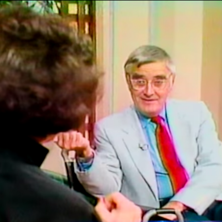 Budd Hopkins 1989 talk show