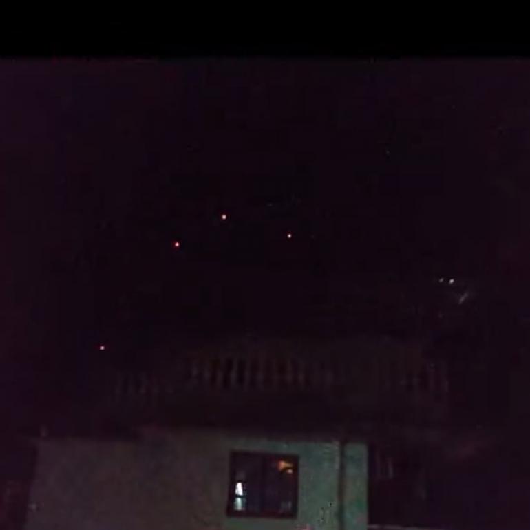 Video & Photos Taken of Triangular UFO At a Wedding Party