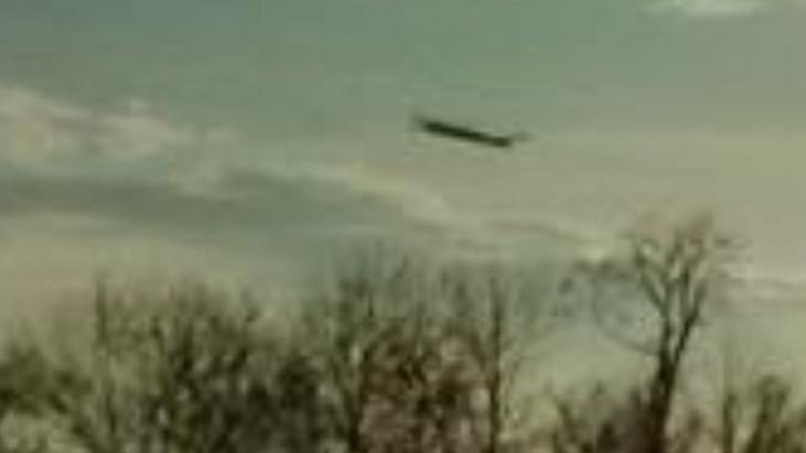 Skywatcher Captures UFO in Photograph near Carmel, Ohio