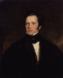 Frederick Marryat claimed to have seen the Brown Lady in 1836