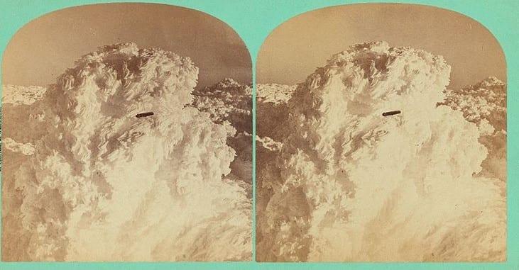 UFO over Mt. Washington, New Hampshire, 1870