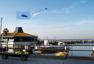 Photo of Flying Saucer Taken in Redondo Beach, California