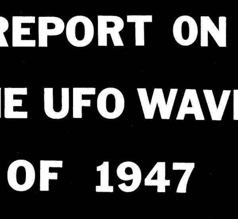 Report on the UFO Wave of 1947 By Ted Bloecher – Introduction By Dr. James E. McDonald