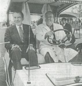 Jackie Gleason & Richard Nixon
