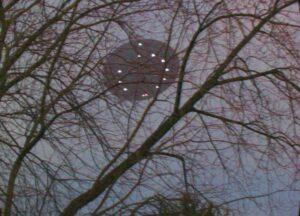 UFO Over Green Bay, Wisconsin