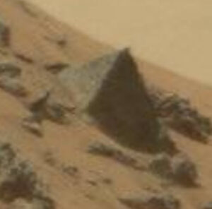 Mars Pyramid Close-up