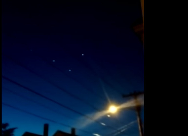 Possible UFO sighting in Rockland?