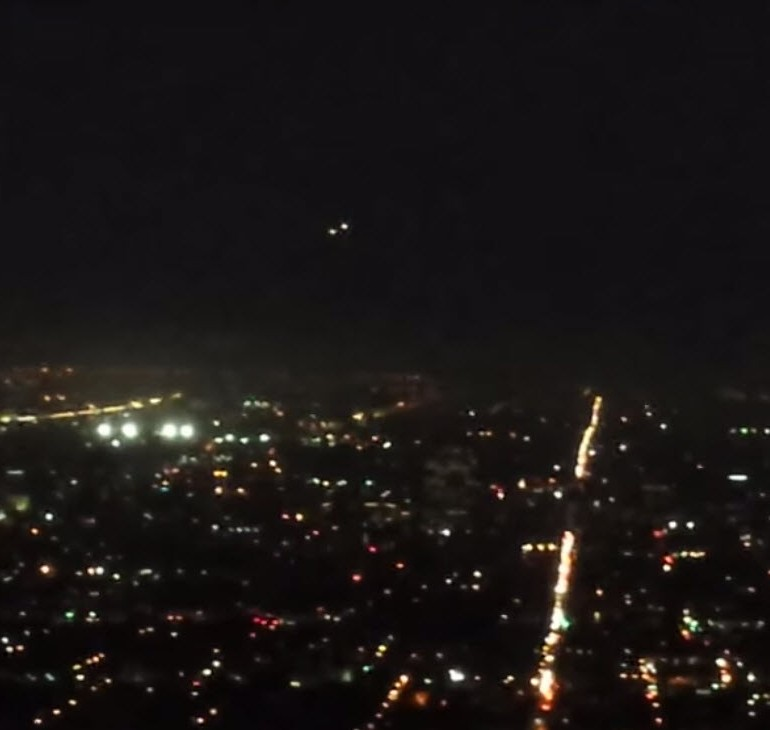 UFO Sighting Over Los Angeles, California