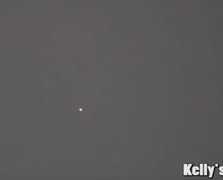 UFO Disappears Over Los Angeles On 3 Cameras