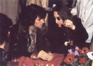 Here Lennon is seen discussing his encounter with world famous psychic Uri Geller.